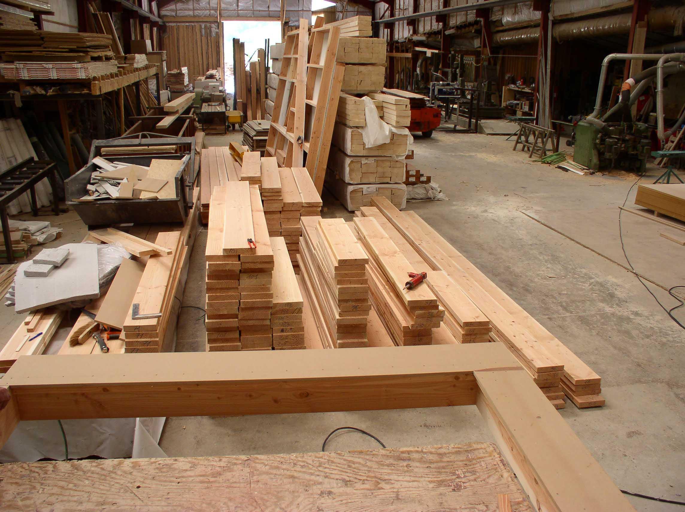 pré-fabriqué murs ossature-bois isère