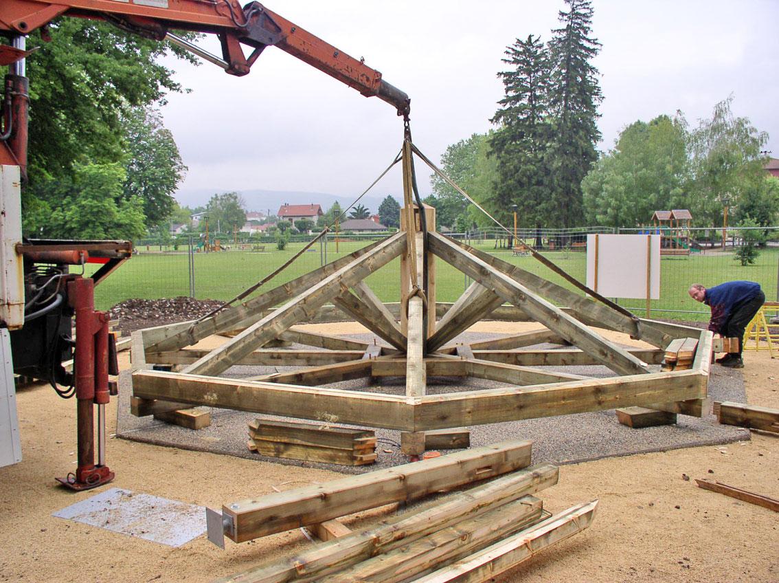 Construction Kiosque Bois u2013 Myqto com # Licence Pro Construction Bois
