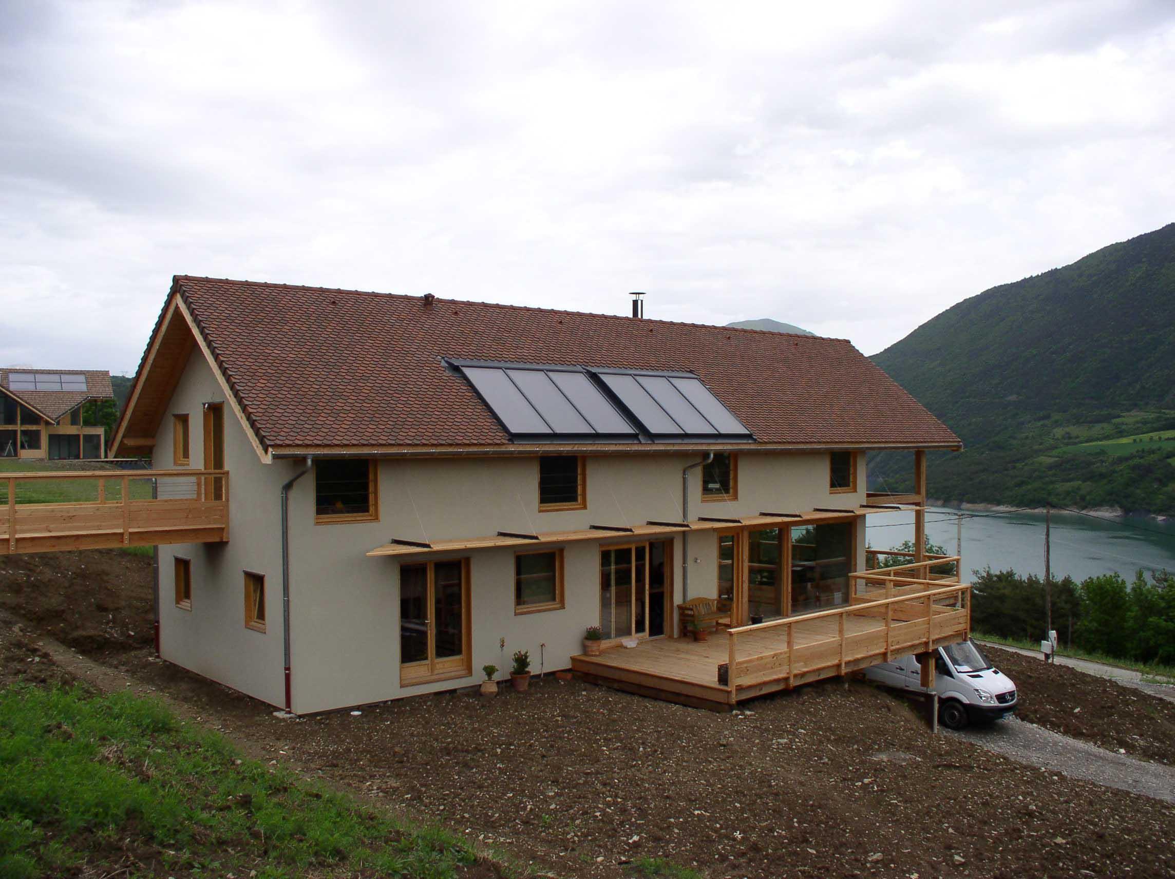 maison ossature-bois éco-construction isère bbc