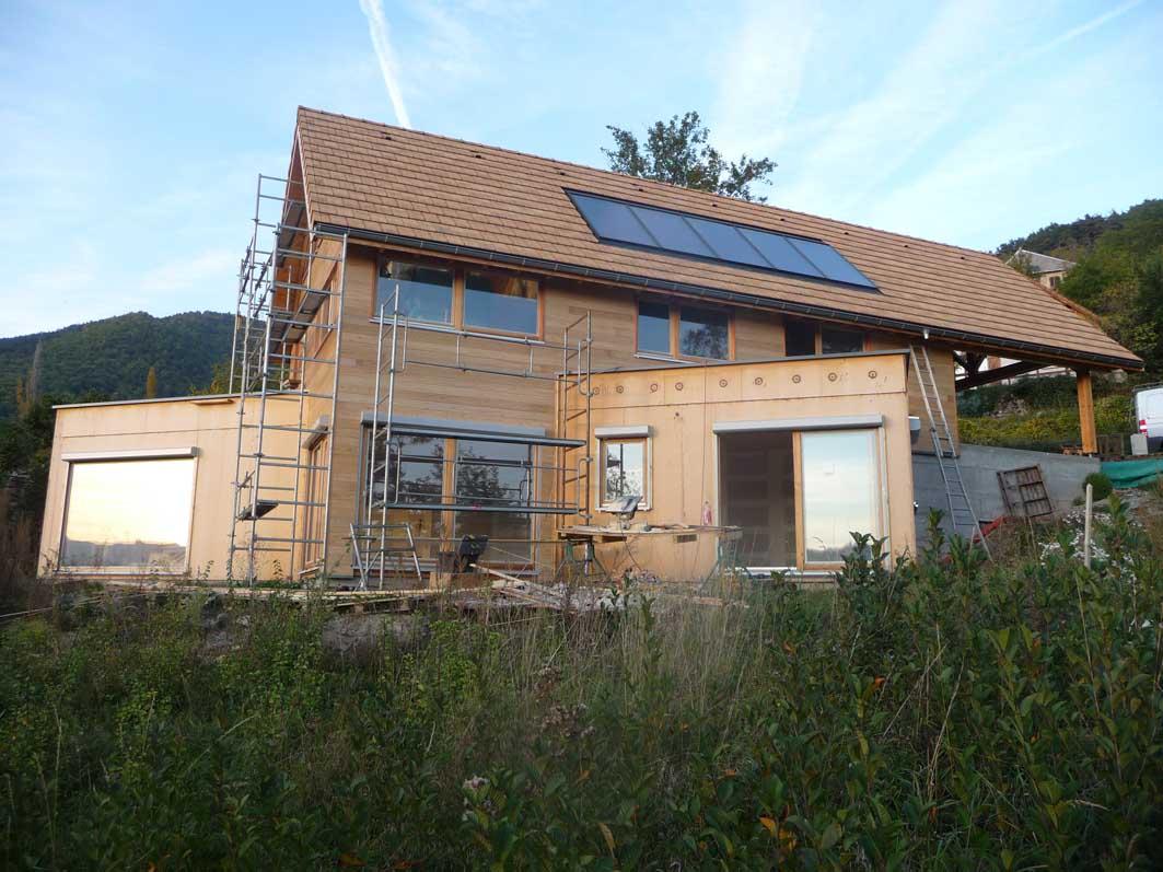Nicollet Charpente  Construction de maisons ossature bois en Isère ~ Maison Bois Isere