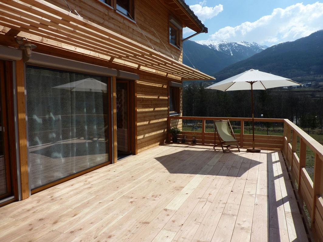 Nicollet charpente construction de maisons ossature bois for Pare soleil exterieur