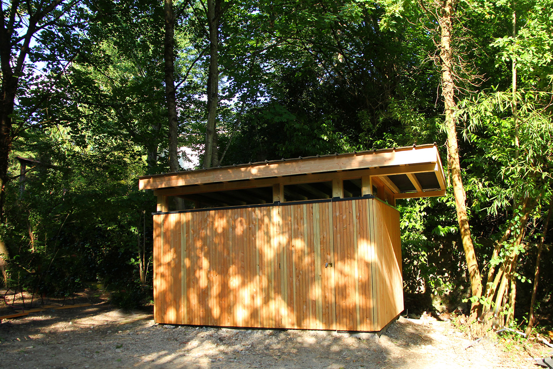 Abri de jardin au design contemporain - SARL Nicollet