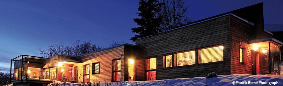 Charpente Maisons ossature bois